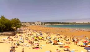 webcam tiempo real playa sardinero